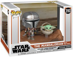 The Mandalorian - The Mandalorian with The Child (Movie Moments) Vinylfiguur 390