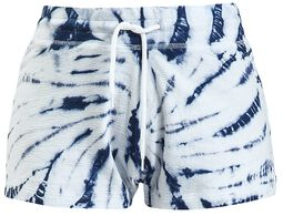 Blue/White Batik Shorts