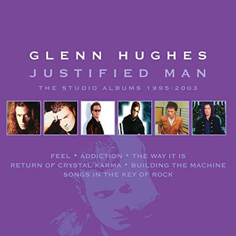 Justified man - The studio albums 1995-2003