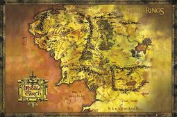 Middle Earth Map