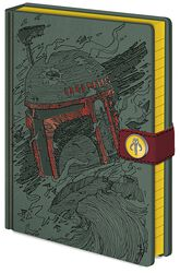 Boba Fett Art - Notebook