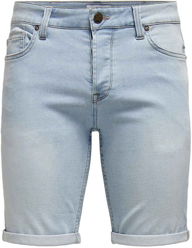 Ply Life Blue Jog Shorts