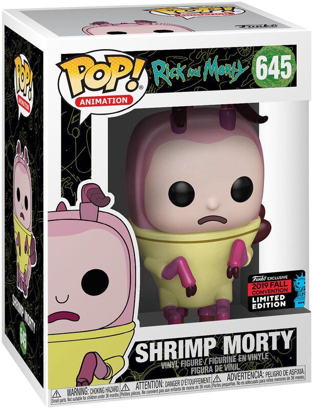 NYCC 2019 - Shrimp Morty Vinylfiguur 645