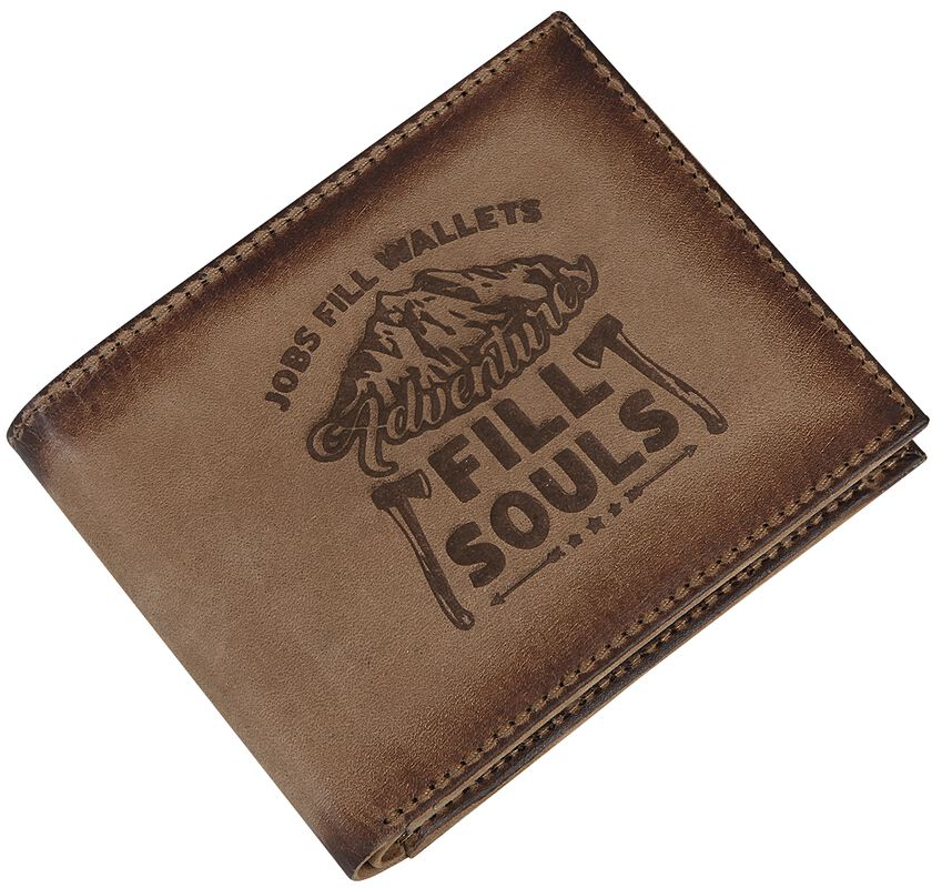 Leather Wallets Adventures Fill Souls