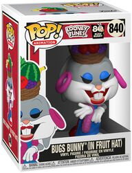 80th - Bugs Bunny (In Fruit Hat) Vinyl Figur 840