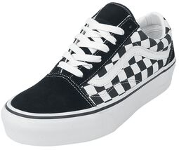 Old Skool Platform Checkerboard