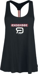 RED X CHIEMSEE - Black Top with Print